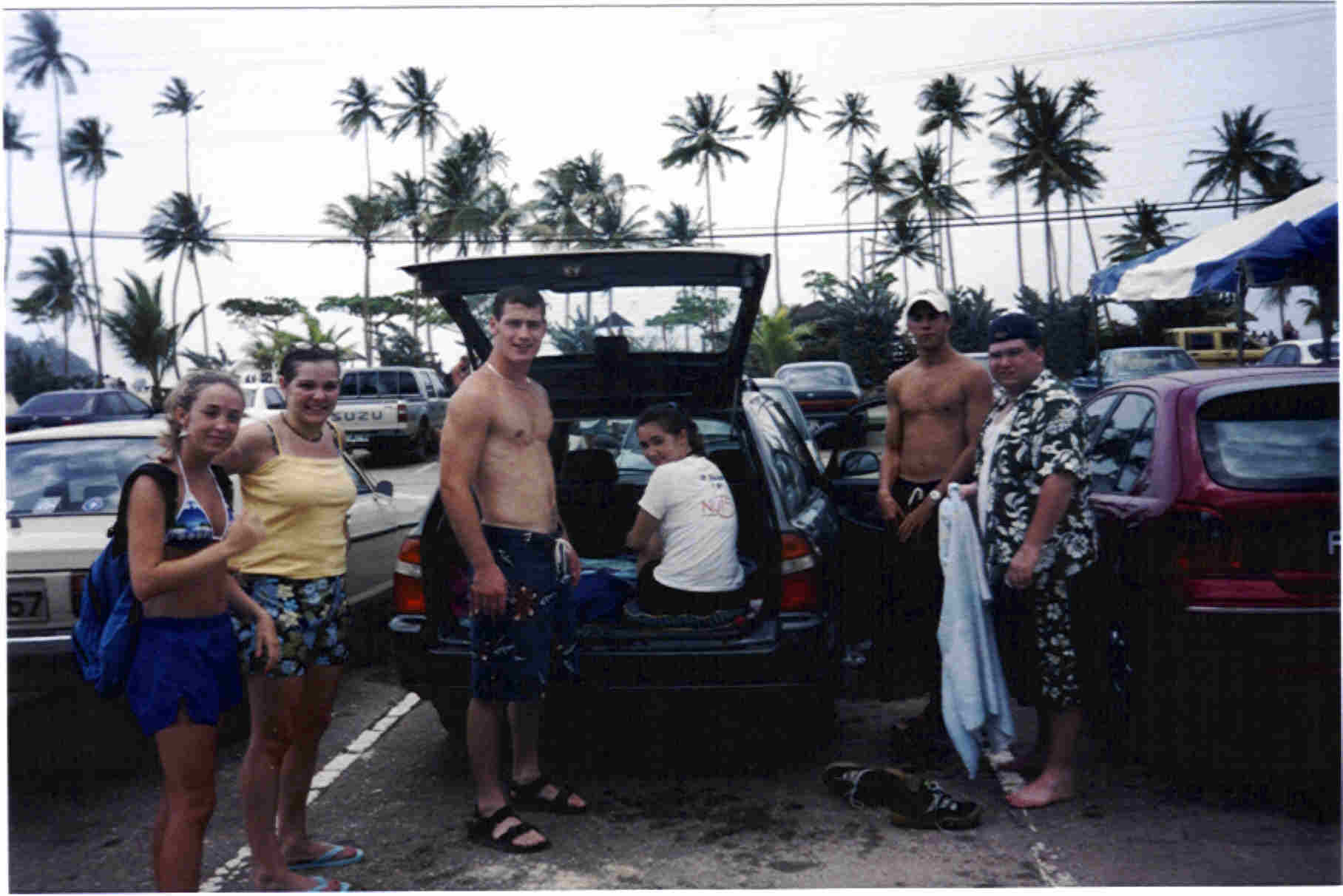 Maracas Parking Lot