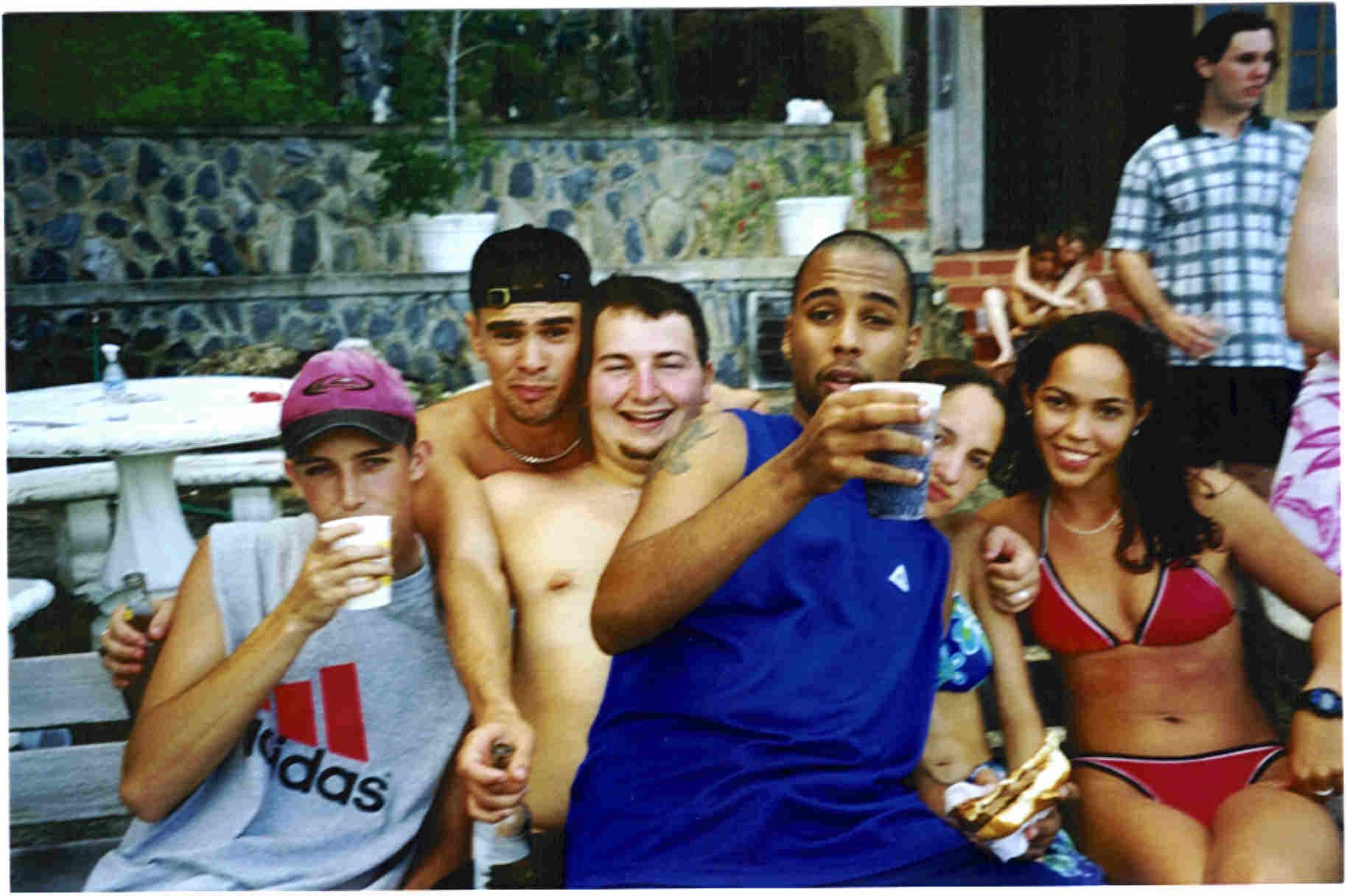 A few of us at a fete d.d.i.