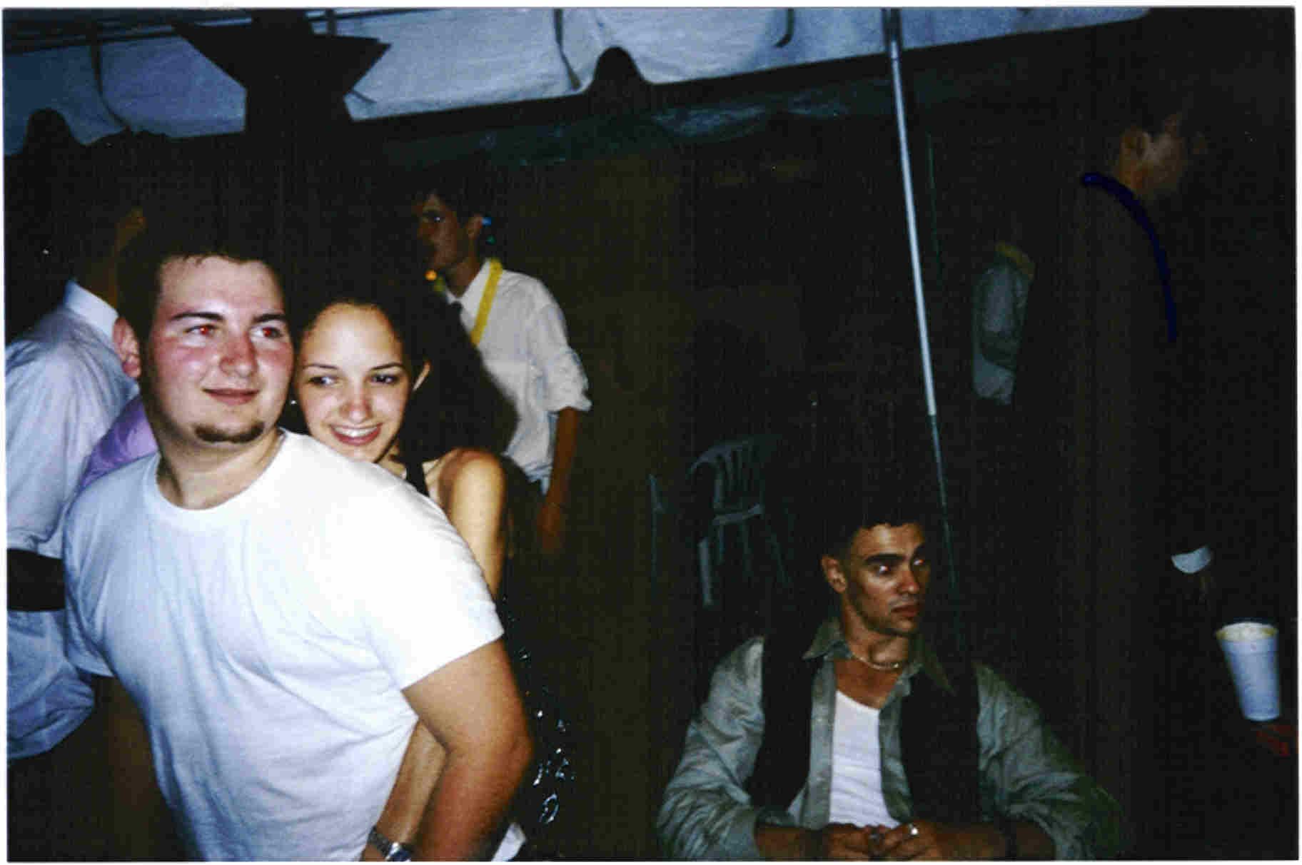 Viza, Daniela, and Nate Dawg.